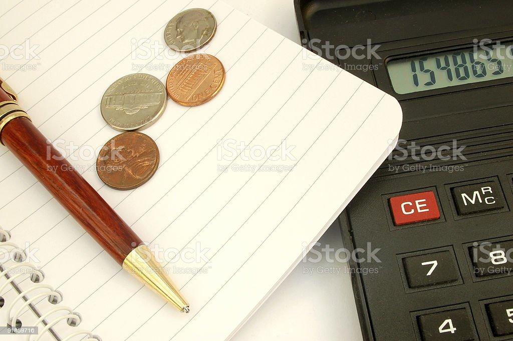 calculator #1 royalty-free stock photo