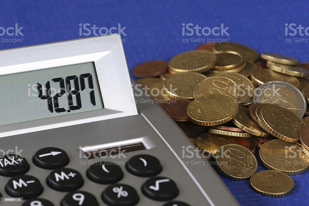 Taschenrechner stock photo