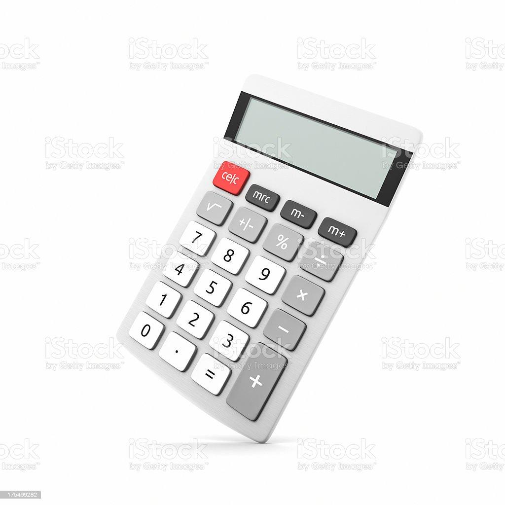 Calculator XL stock photo