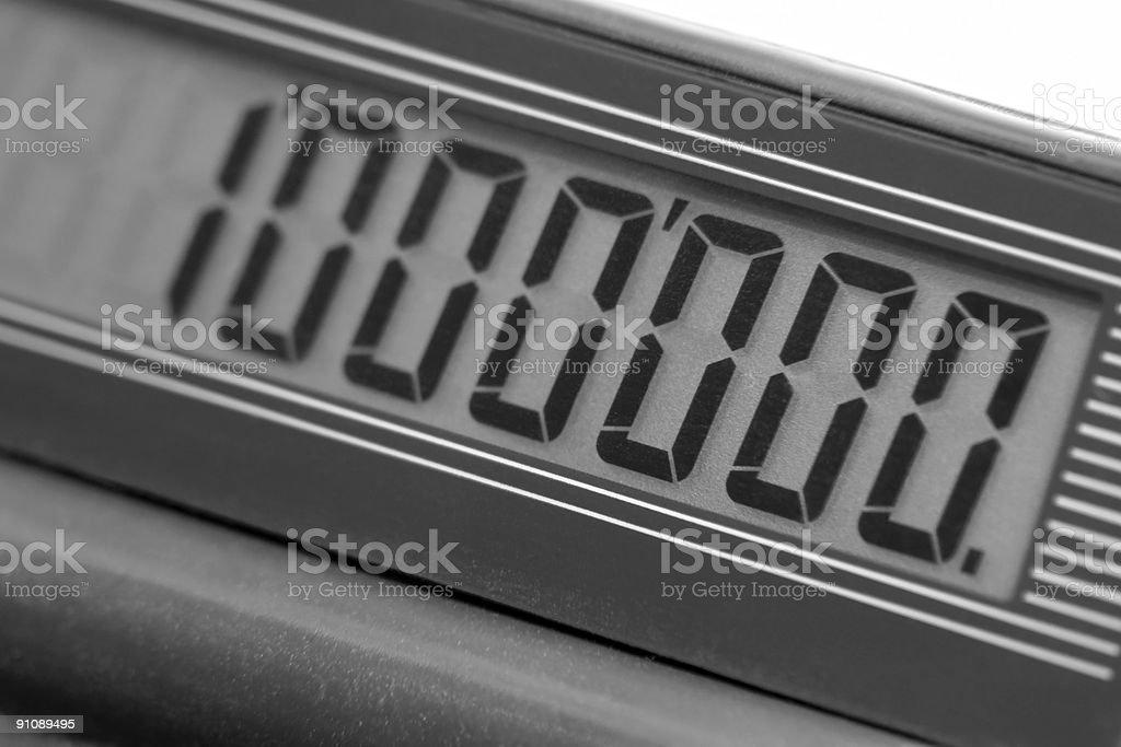 calculators display stock photo