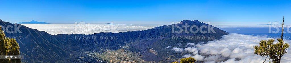 Caldera de Taburiente National Park, La Palma royalty-free stock photo