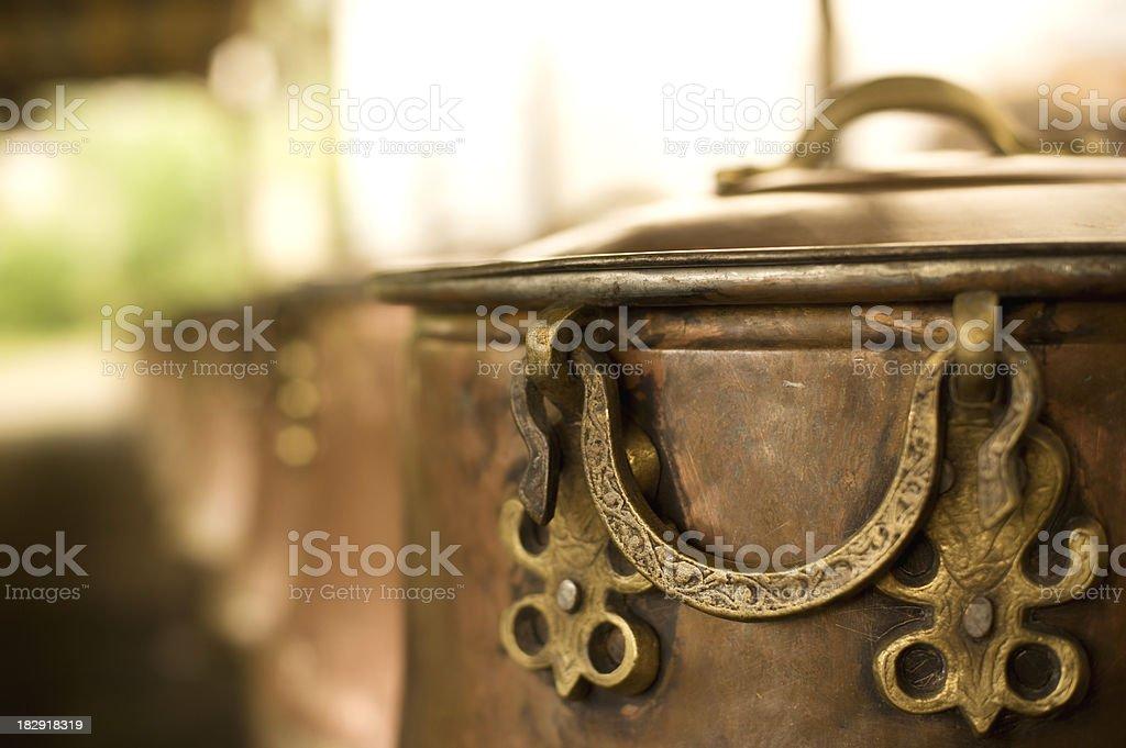 Caldron stock photo
