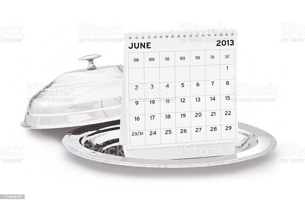Calendar 2013 royalty-free stock photo