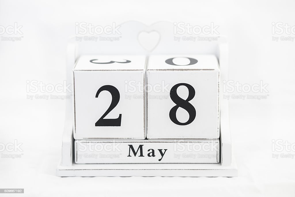 calendar may number stock photo