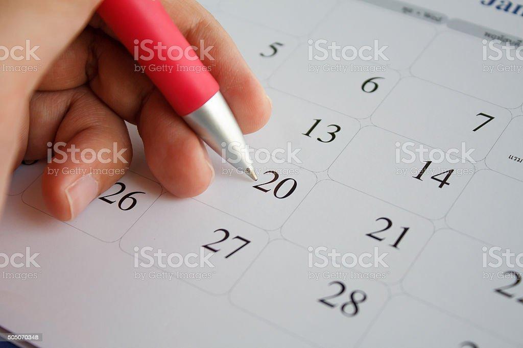 calendar royalty-free stock photo