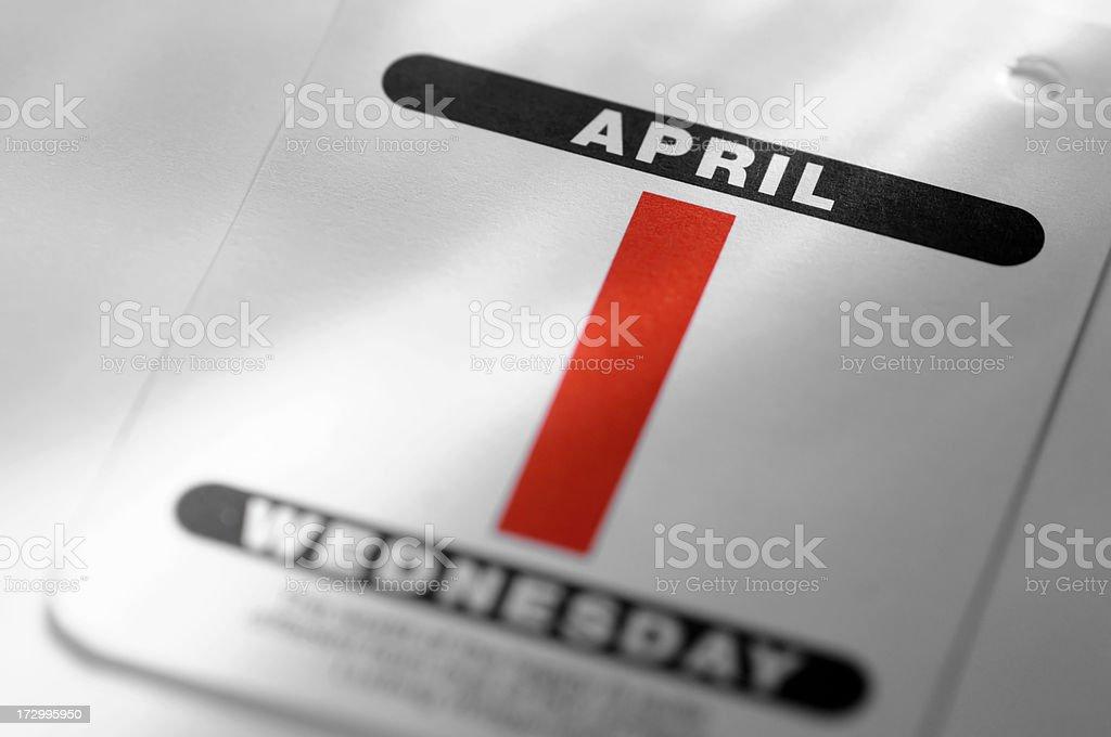 calendar series royalty-free stock photo
