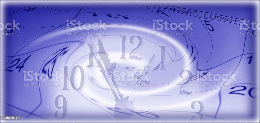 Calendar Time Flies stock photo