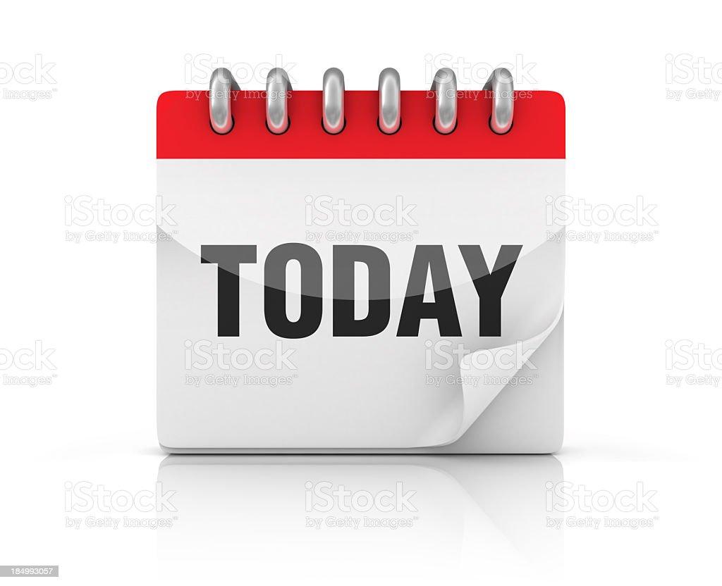 Calendar TODAY stock photo