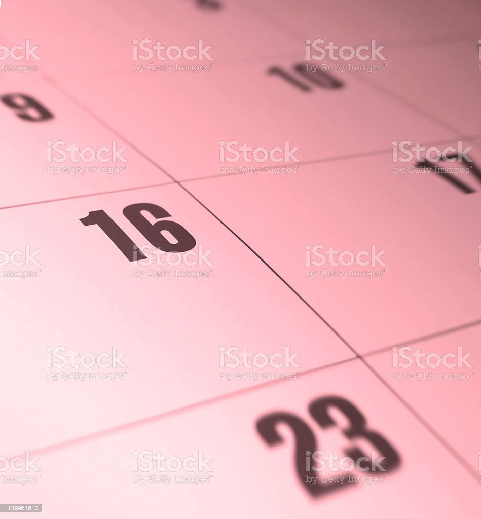 calender royalty-free stock photo