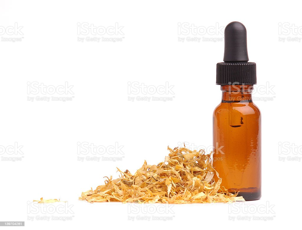 Calendula Aromatherapy royalty-free stock photo