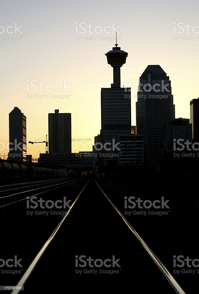 Calgary 3 royalty-free stock photo