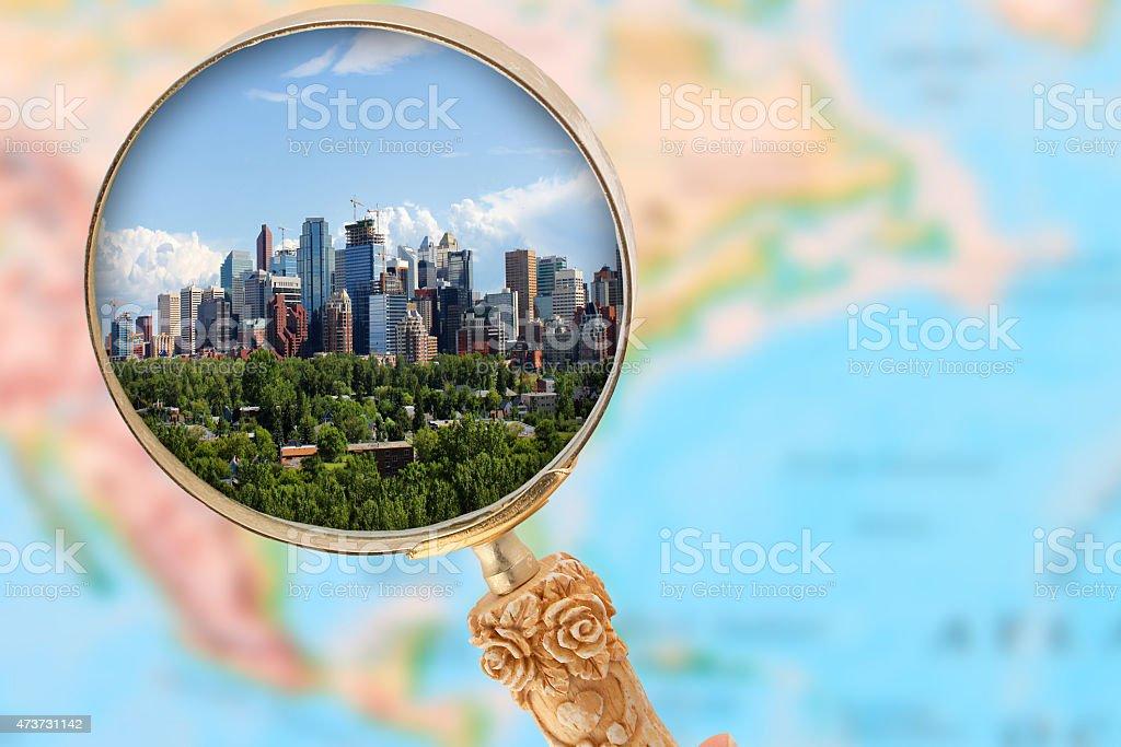 Calgary Alberta stock photo