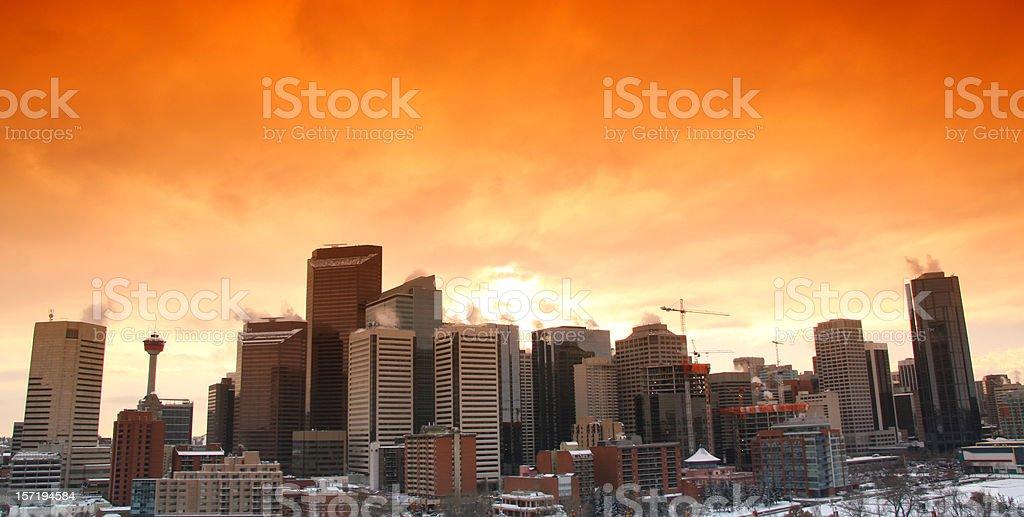 Calgary royalty-free stock photo