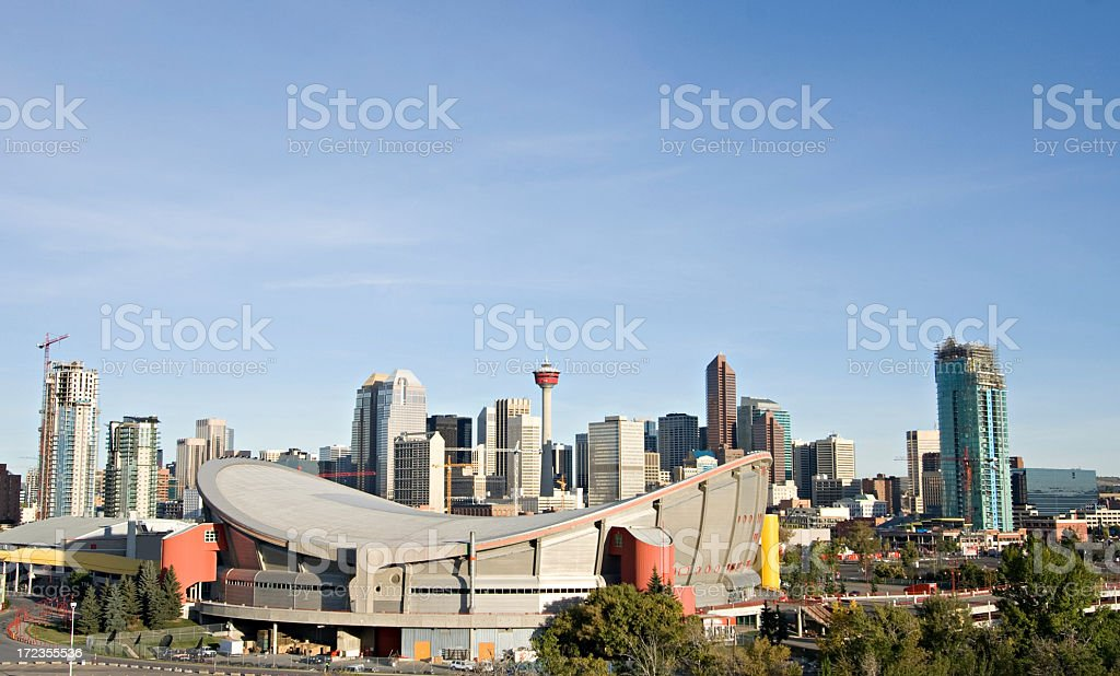 Calgary royalty-free stock photo