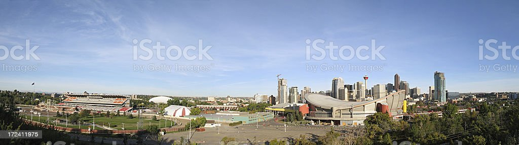 Calgary Stampede Downtown royalty-free stock photo