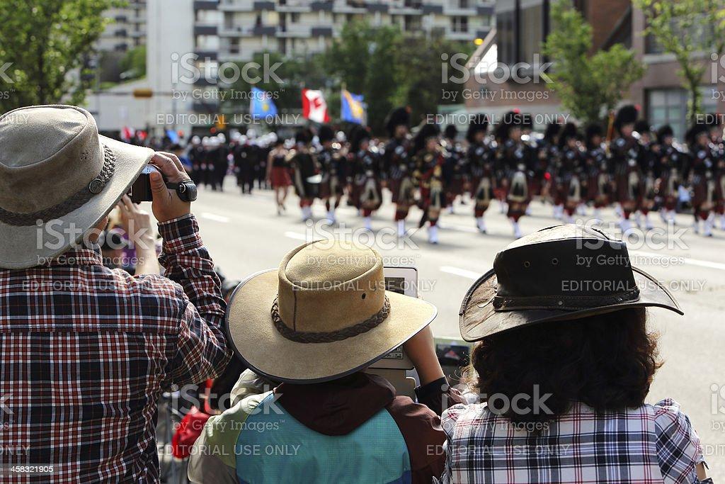 Calgary Stampede Parade royalty-free stock photo