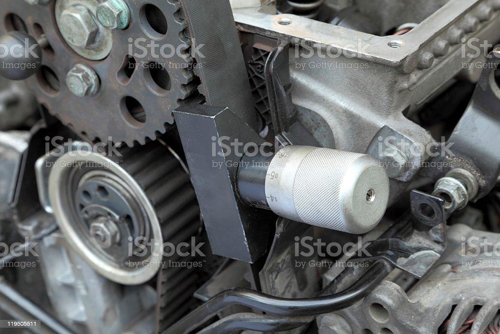 Calibration tool stock photo