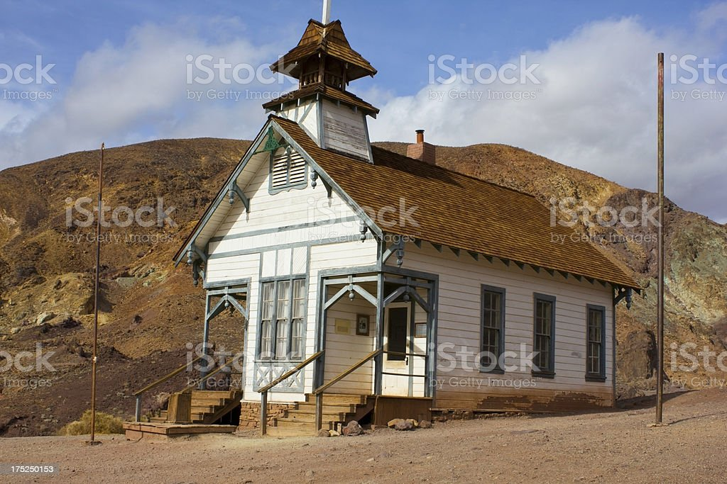 Calico Ghost Town royalty-free stock photo