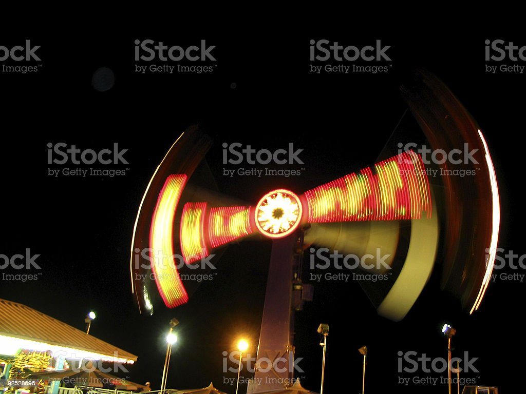 California amusement park ride royalty-free stock photo