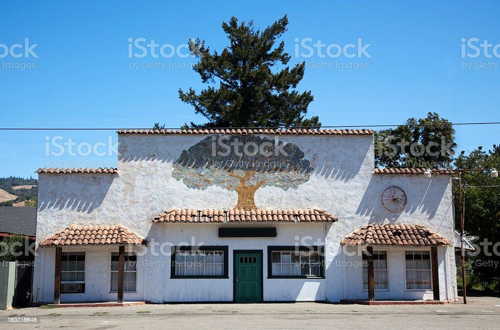 California Architecture royalty-free stock photo