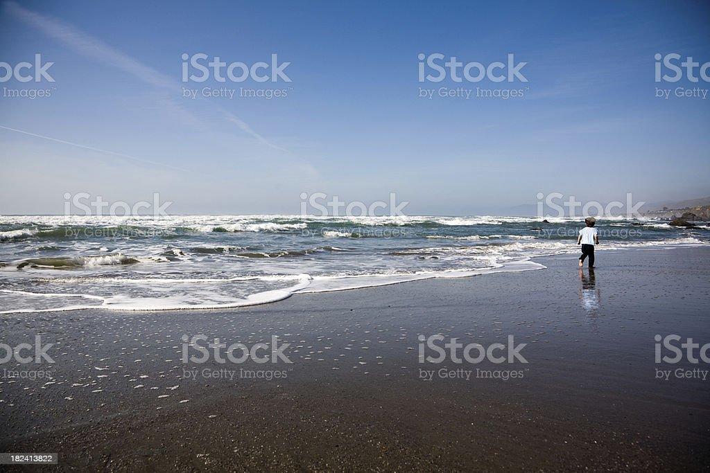 California Atlantic Ocean royalty-free stock photo