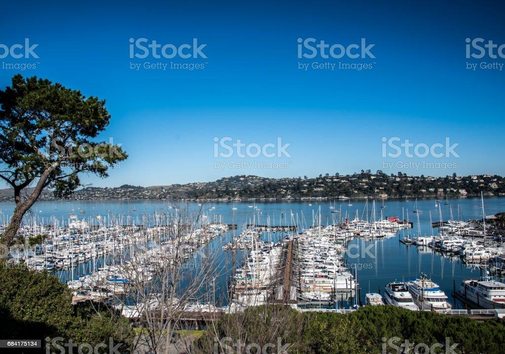California Bay Area Ship Yard stock photo