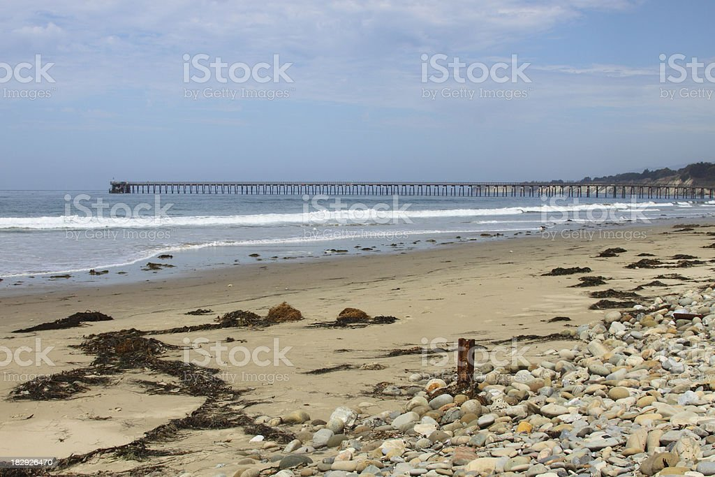 California beach stock photo