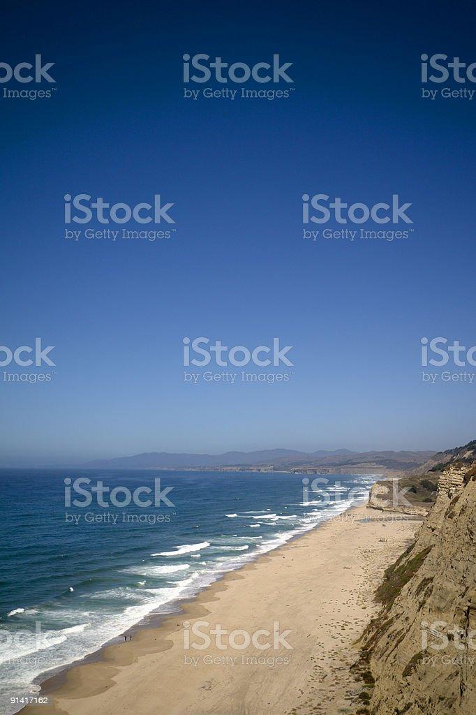 California Beach royalty-free stock photo