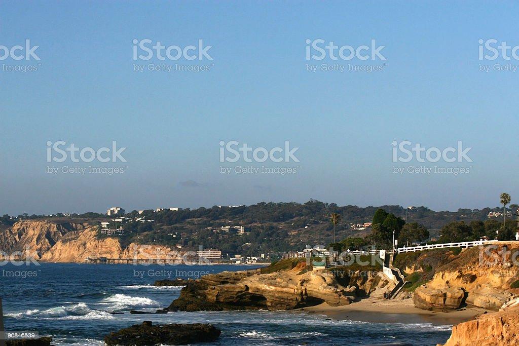 California Beaches royalty-free stock photo