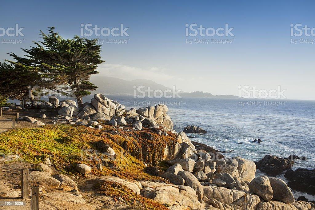 USA, California, Big Sur, Coastline and sea stock photo