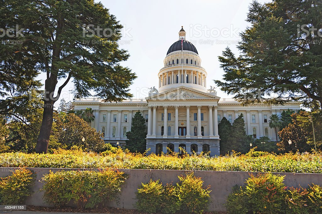 California Capitol royalty-free stock photo