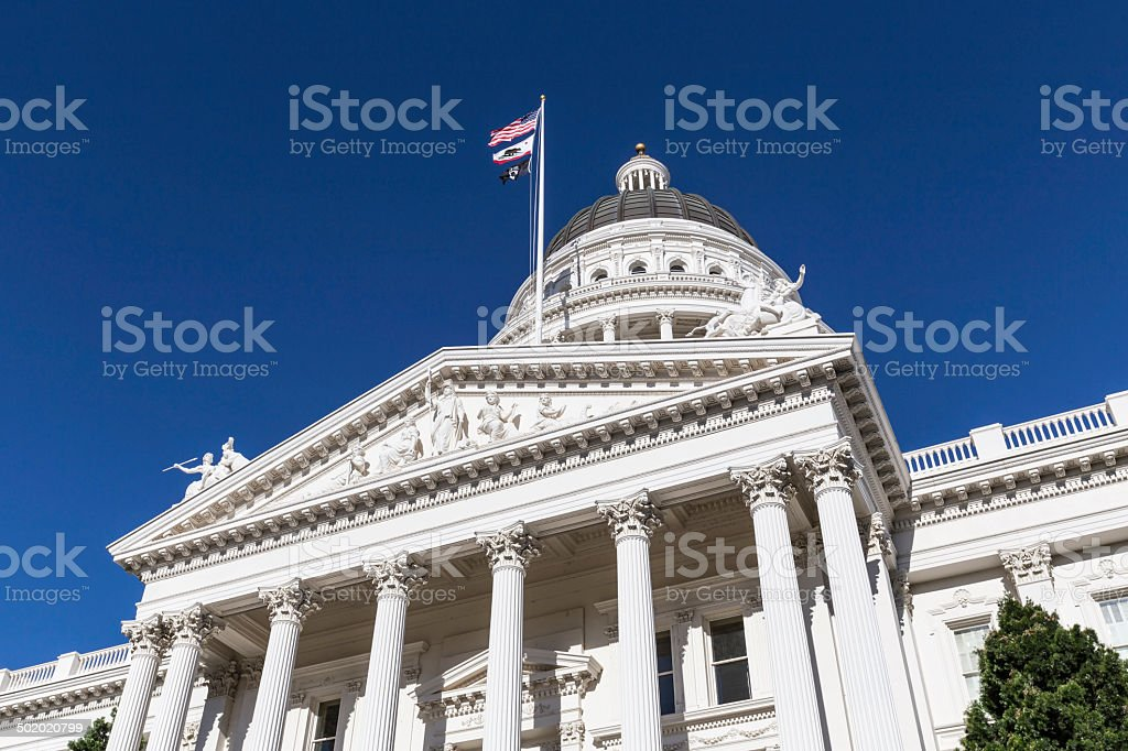 California Capitol Sacramento stock photo