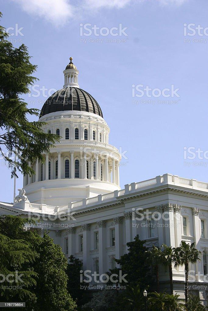 California Capitol Sacromento stock photo