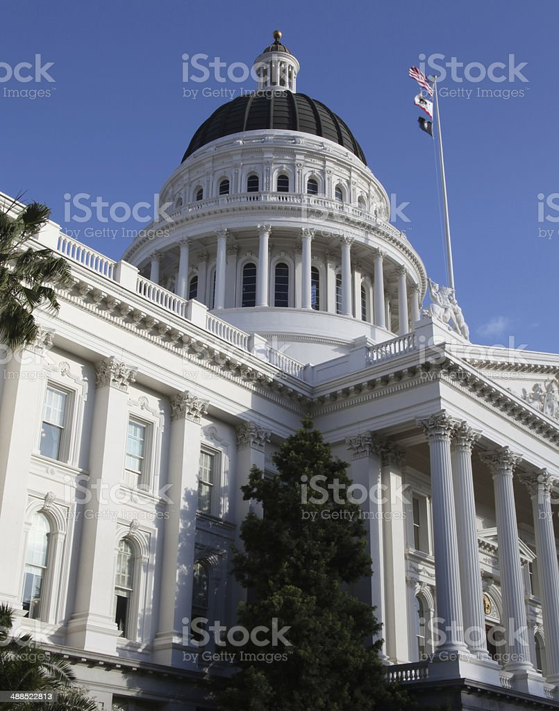 California Capitol View stock photo