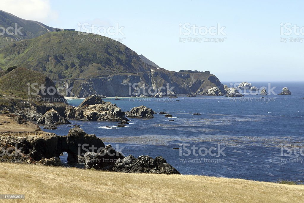 California Central Coast stock photo