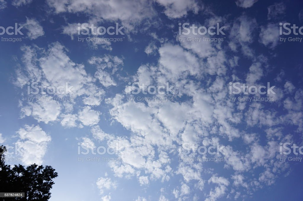 California Clouds stock photo