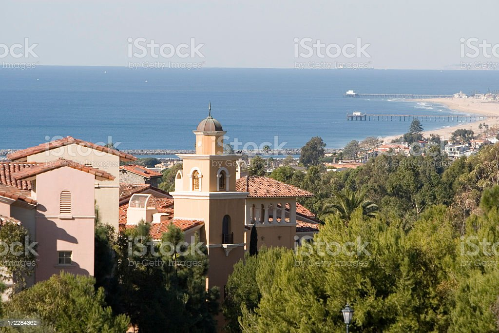 California Coast - Orange County royalty-free stock photo
