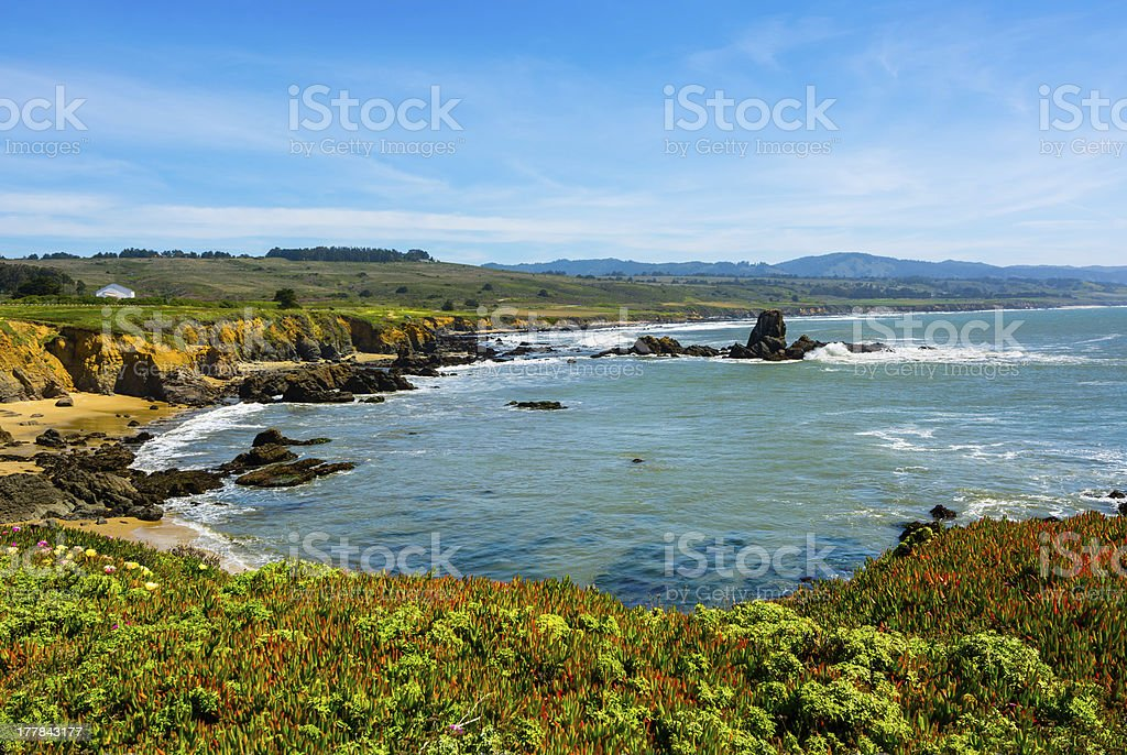 California Coast stock photo