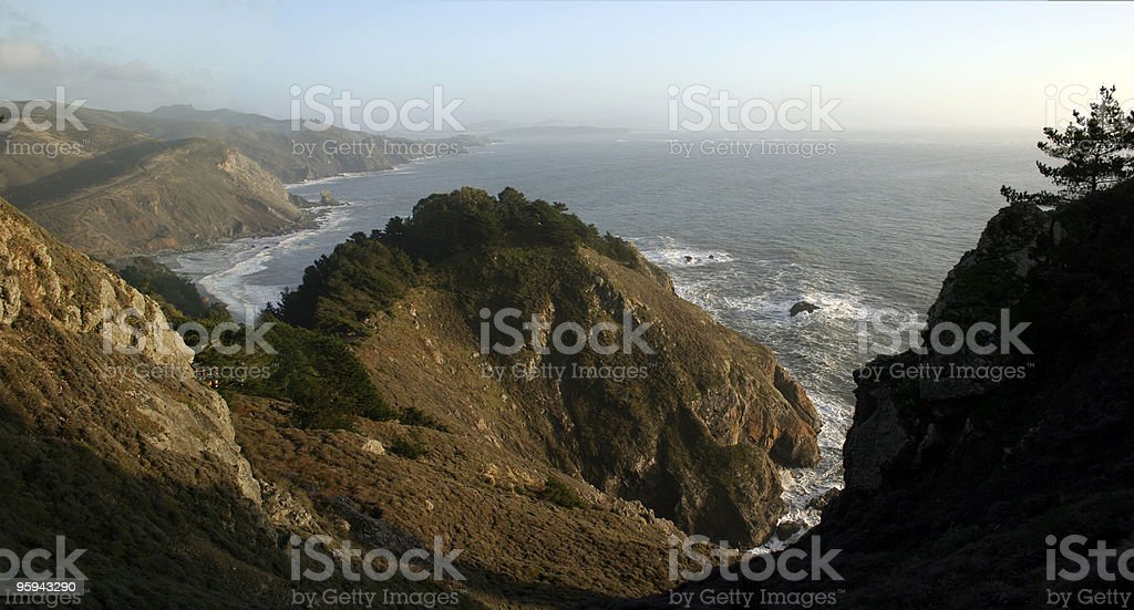 California Coast royalty-free stock photo