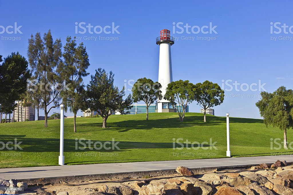 California Coastline at Pier Point Landing stock photo