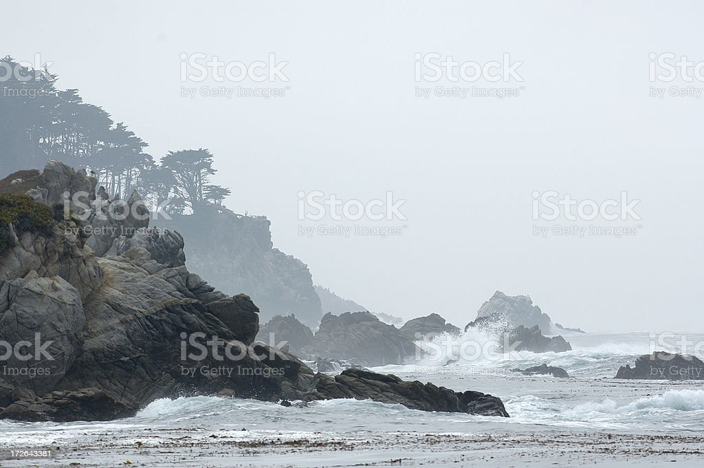 California coastline royalty-free stock photo