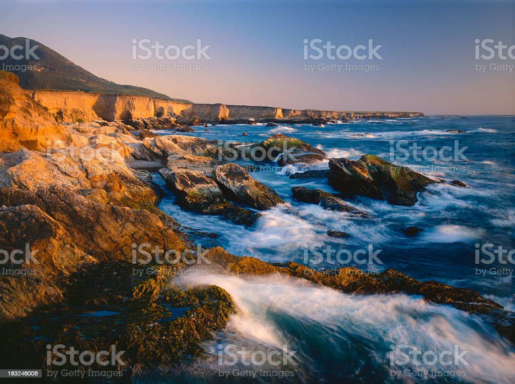 California Coastline stock photo