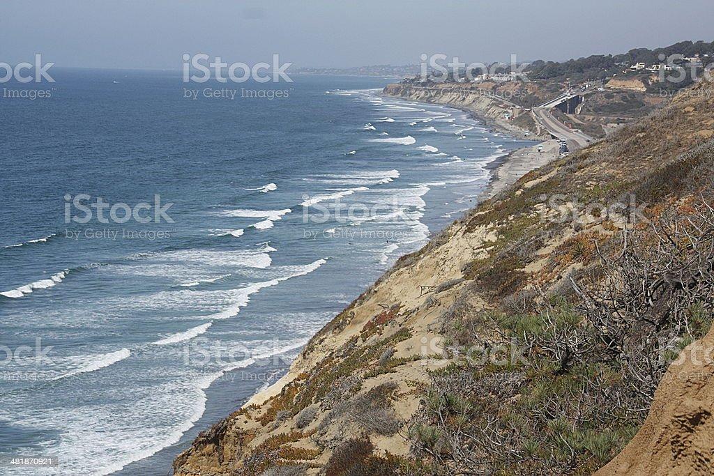 California Coastline stock photo