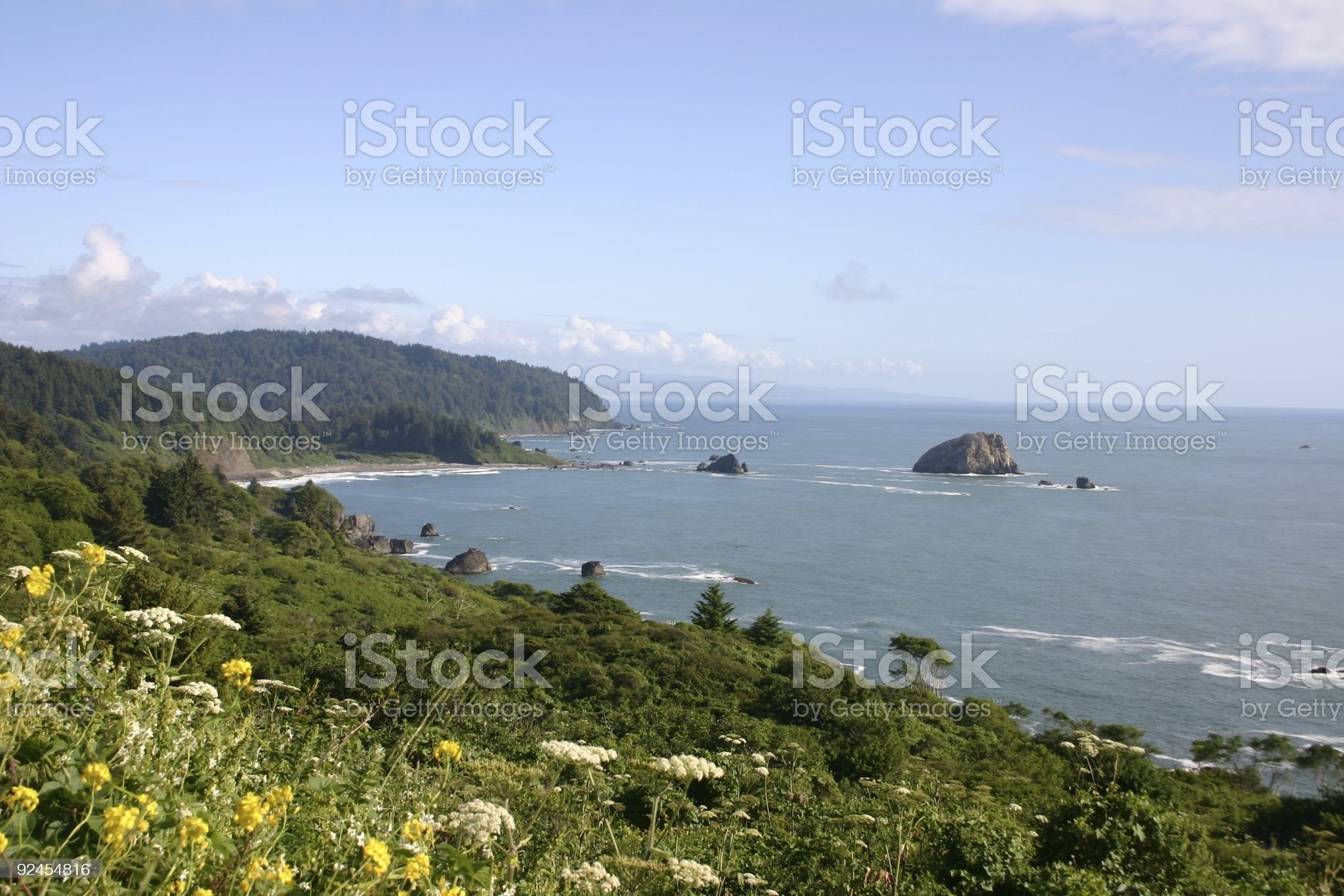California Coastline royalty-free stock photo
