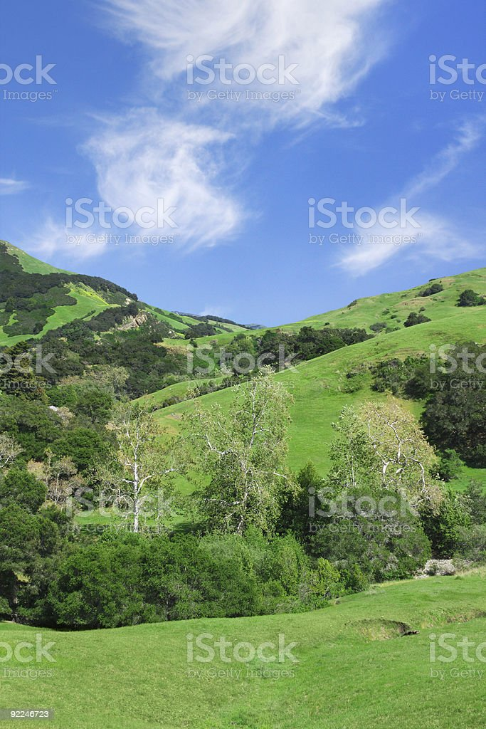 California Countryside royalty-free stock photo