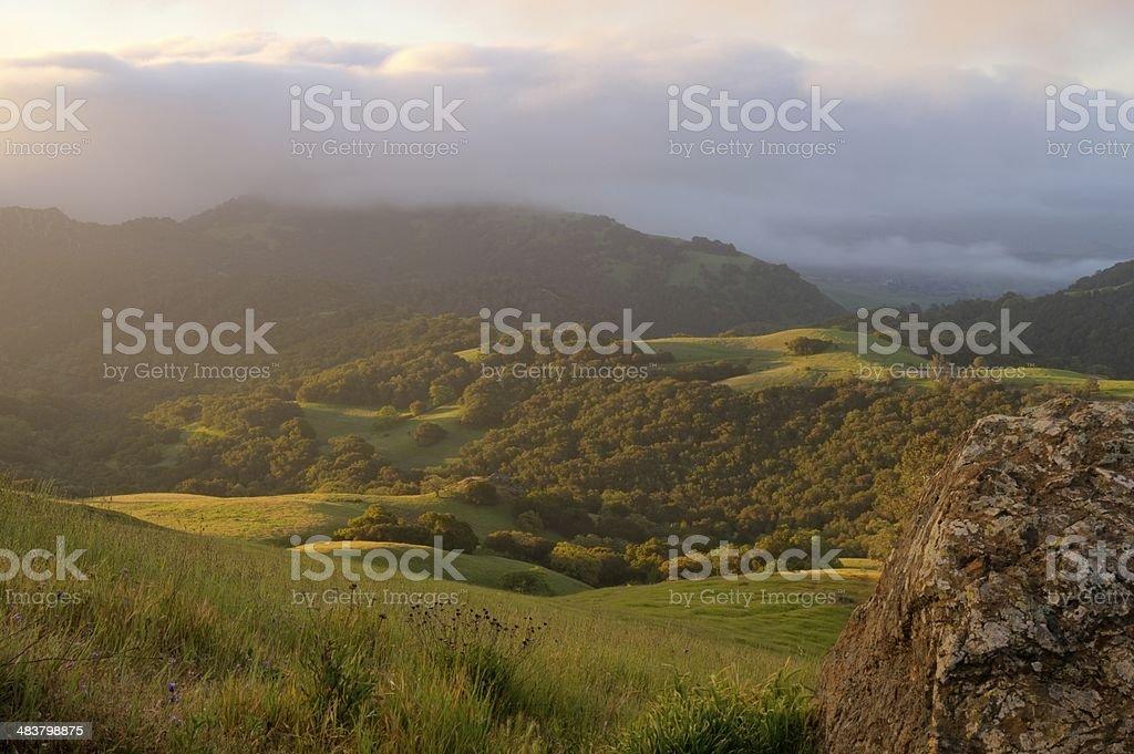California Dawn stock photo