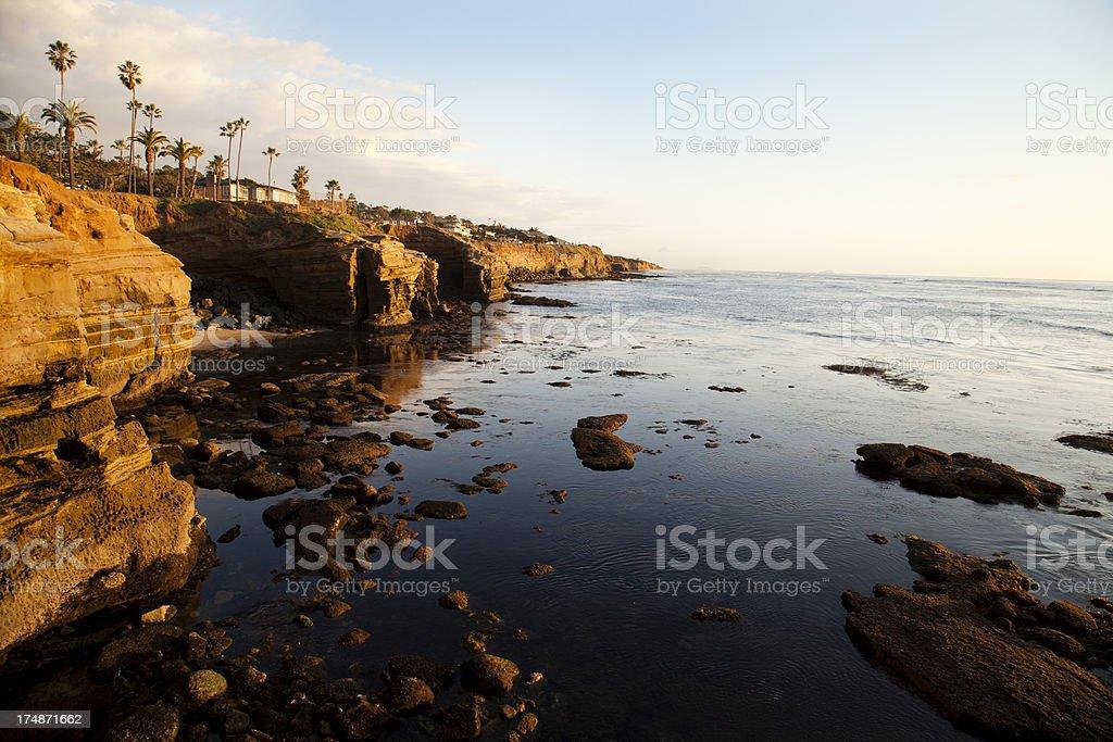 California Golden Coast royalty-free stock photo