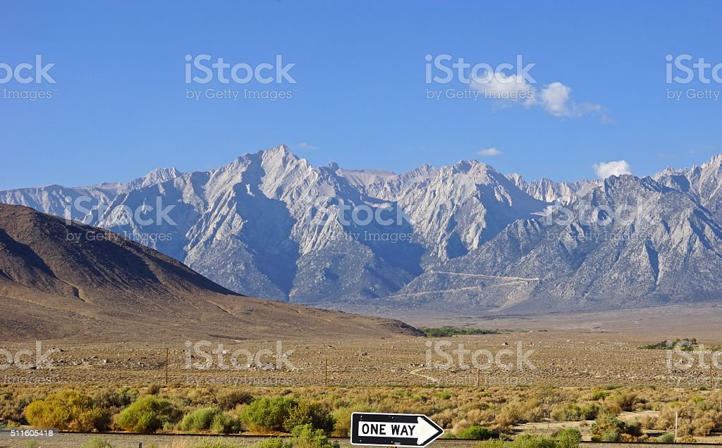 California High Sierra stock photo