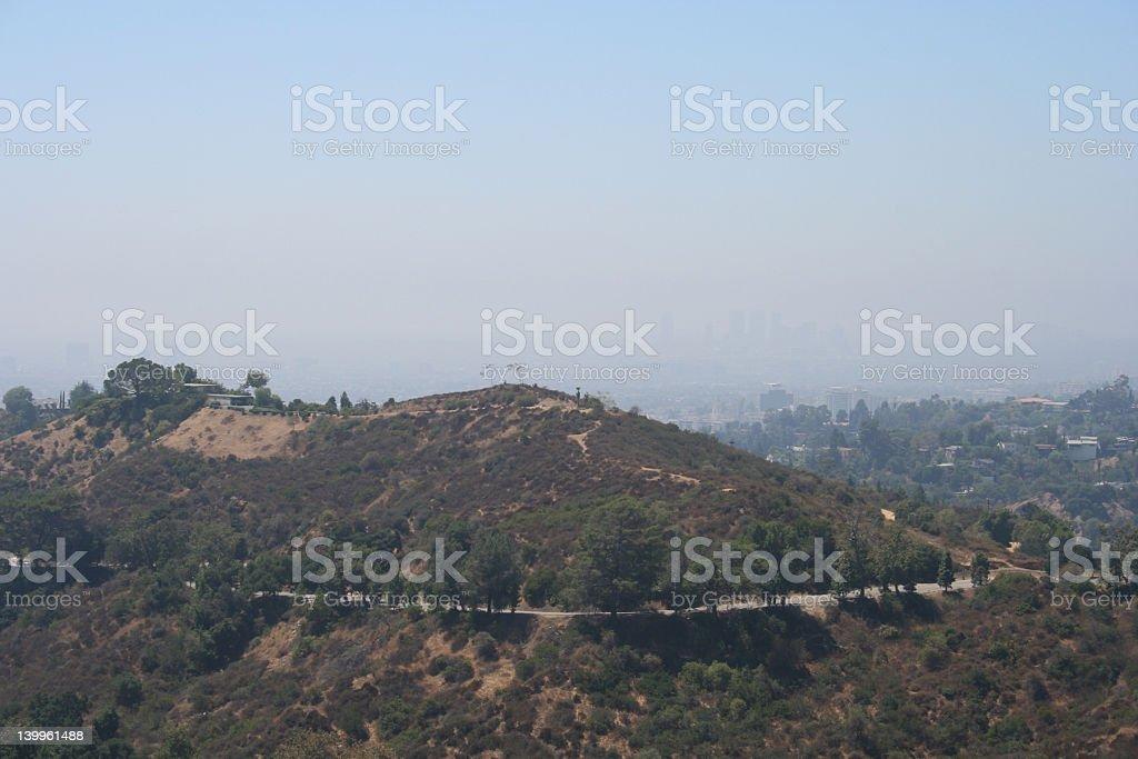 California Hills royalty-free stock photo