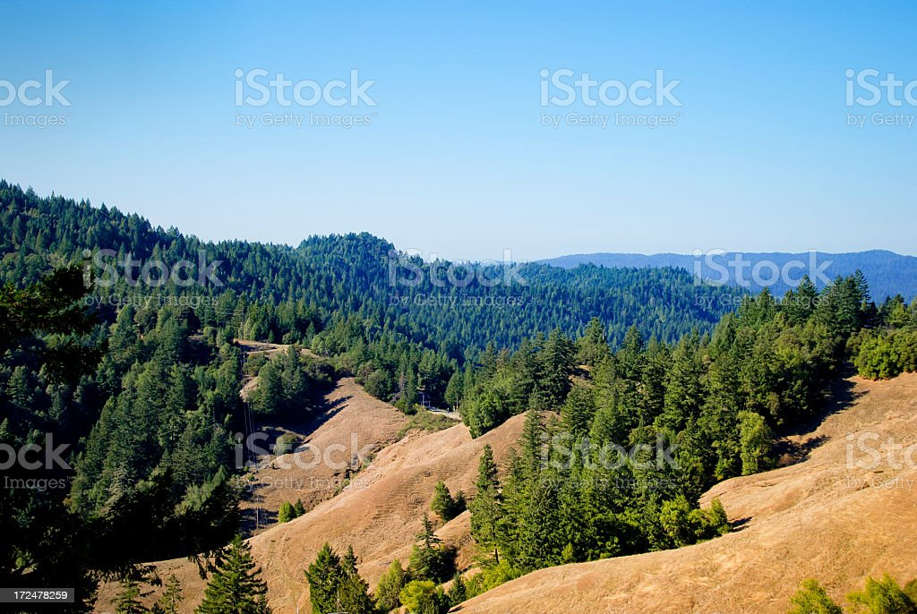 California Hills royalty-free stock photo